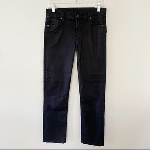 Citizens of Humanity slim faded black jeans